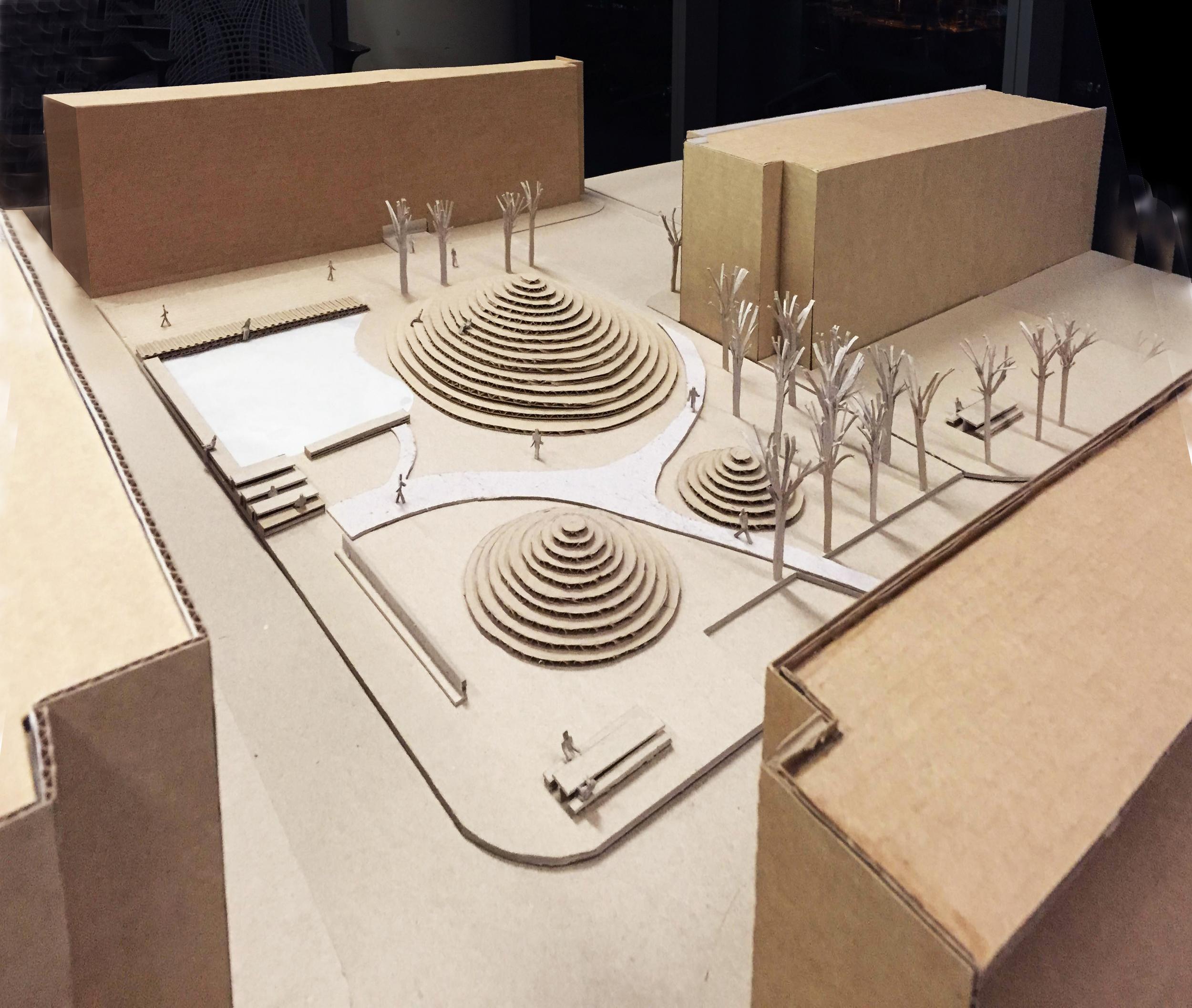 KLabs_Undergraduate Student Quad_Renovation_Cardboard model_2015.jpg