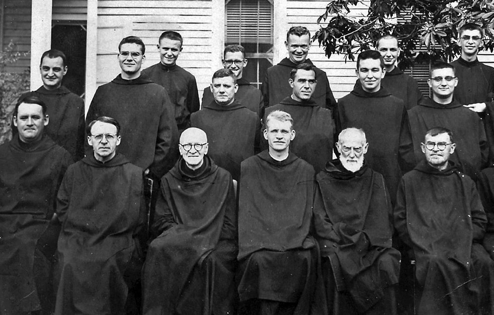 Br. Stephen is located third from right in middle row.