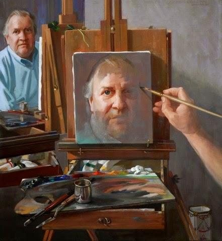 Auseklis Ozols Self-portrait