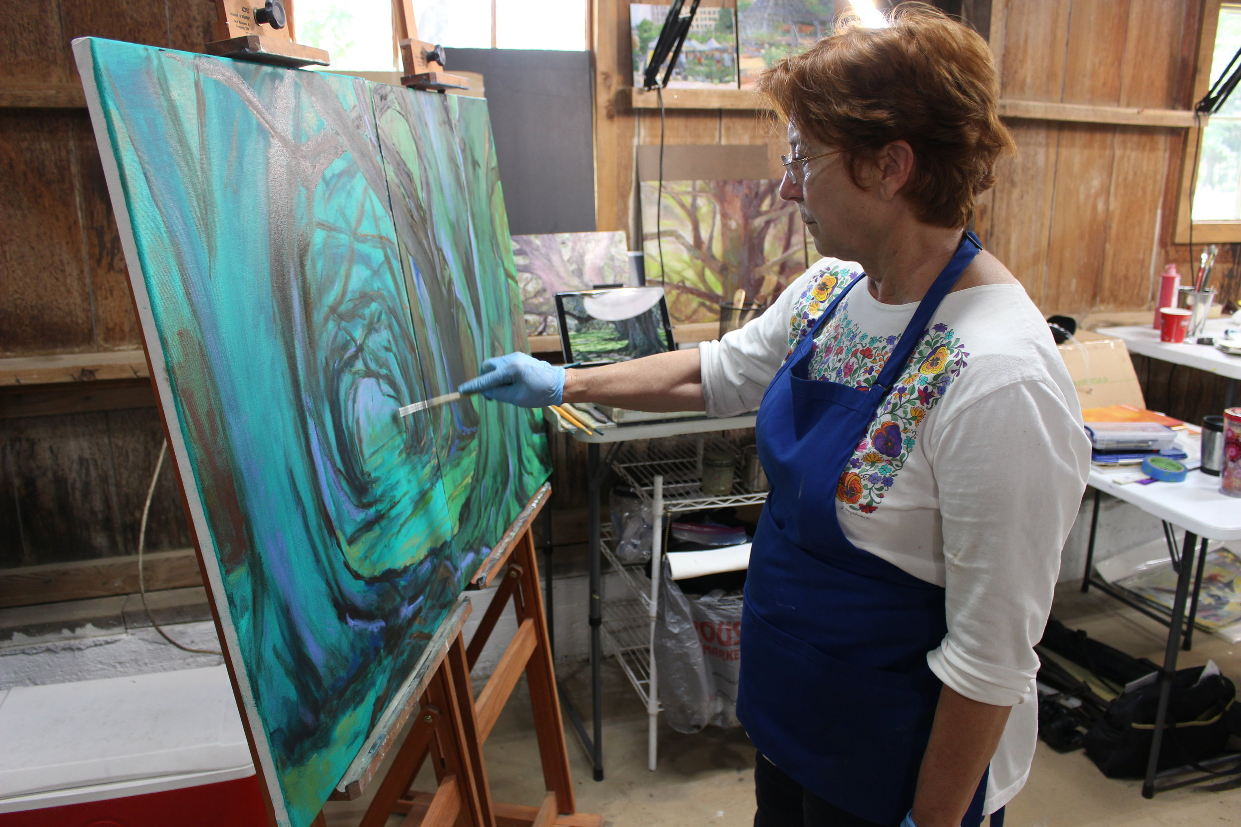 Open Studio Time - Now available to everyone; Mondays 1-7 p.m.