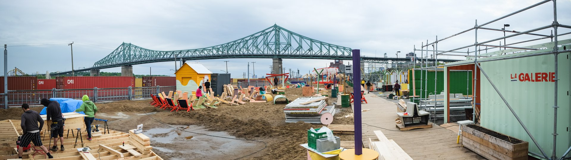 Chantier 2018 - Photos: Steven Porotto & Charles-Olivier Bourque