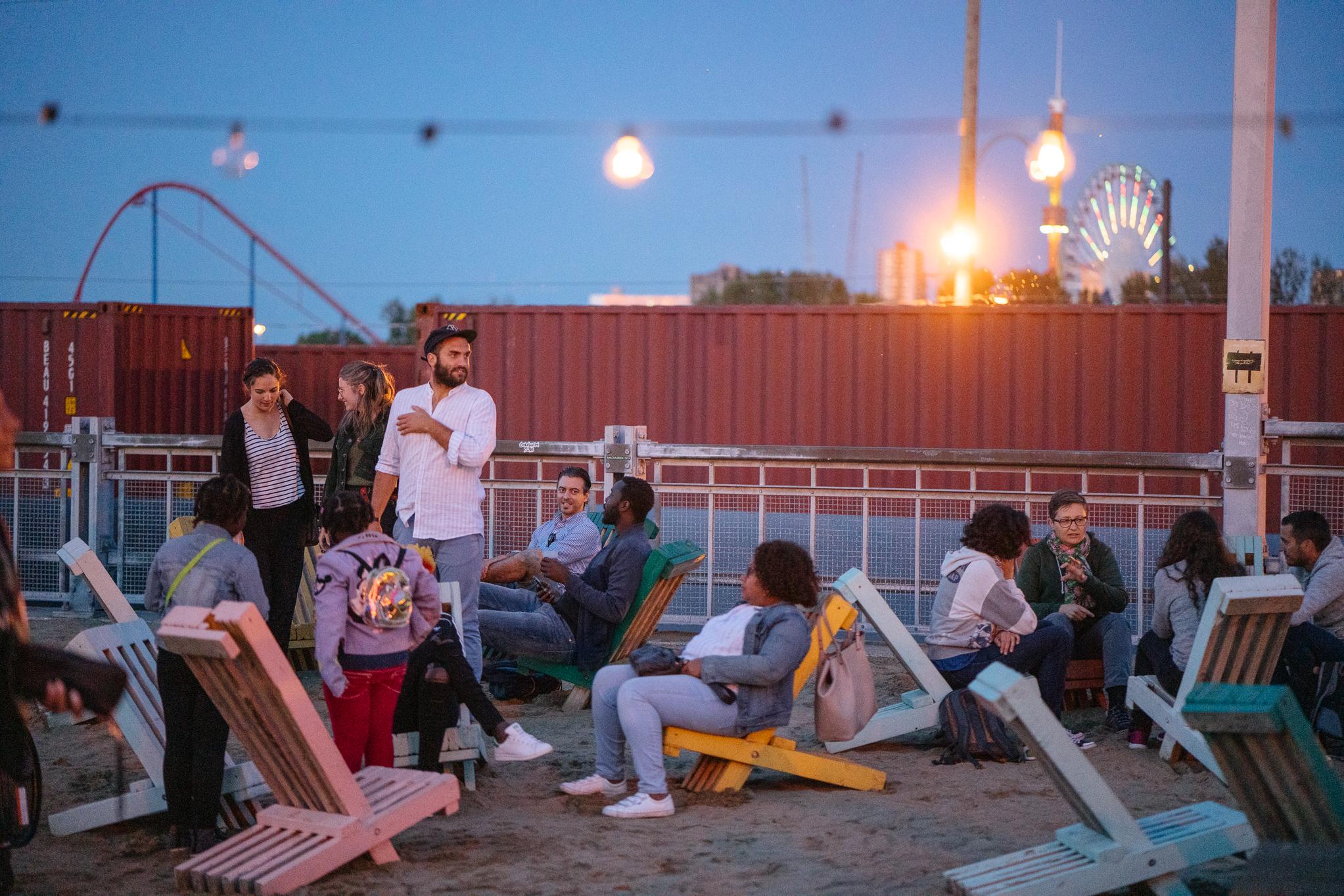 BBQ Oasis + Jeunes Marins urbains - Photos: Cannelle Wiechert