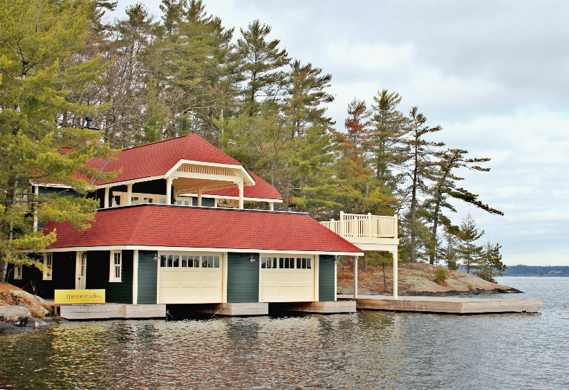 MUSKOKA ISLAND HERITAGE BOATHOUSE