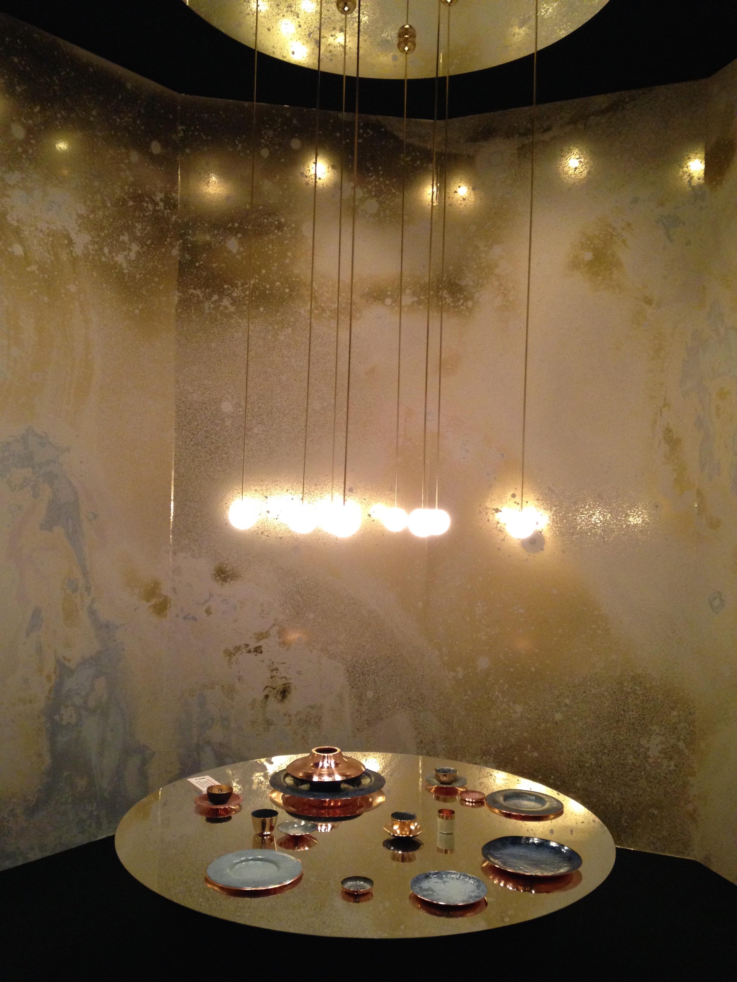 Or, métal et minéraux...au pavillon Precious par Elizabeth Leriche