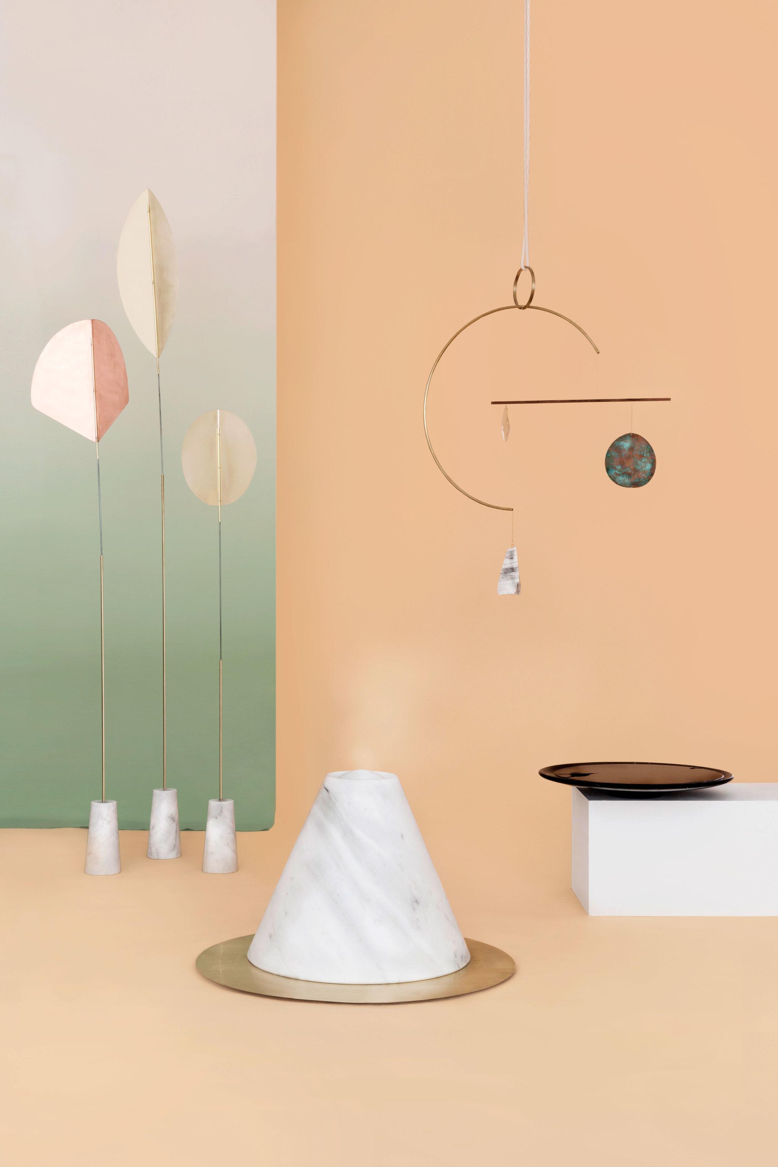 """In Itinere"", Milan Design Week, 2018. The Ladies' Room (Astrid Luglio,  Agustina Bottoni ,  Ilaria Bianchi )"