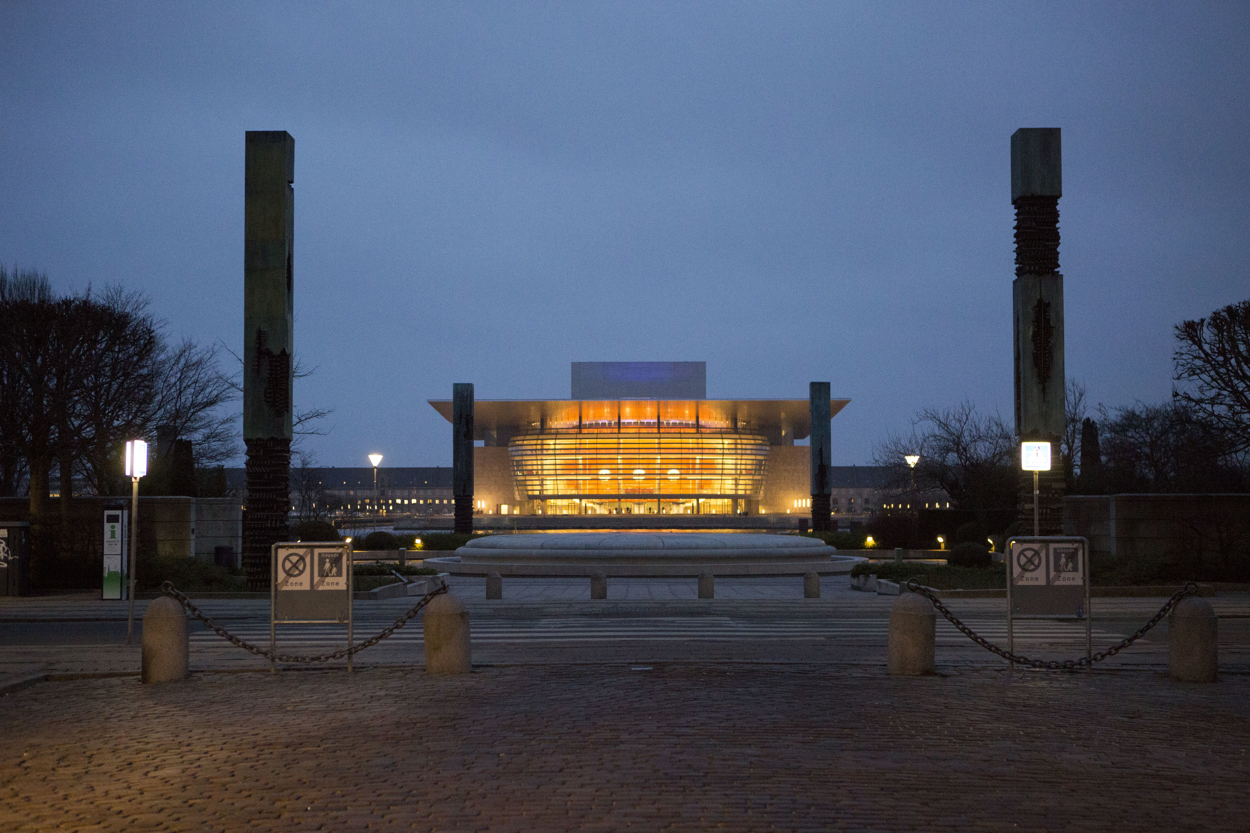 Royal Danish Playhouse (Skuespilhuset) on the waterfront