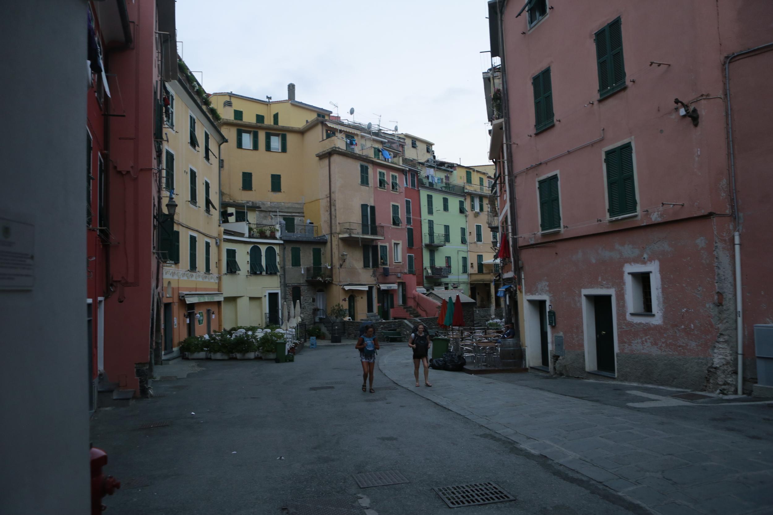 Vernazza, Cinque Terre in the morning