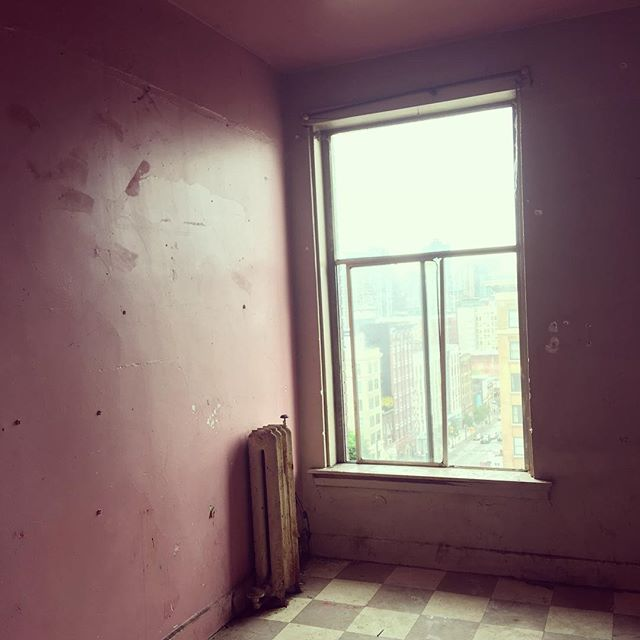 Some of our rooms haven't been renovated or properly cleaned for 25 years. Wait until this one is done! #dtes #hotelempress #mainandhastings