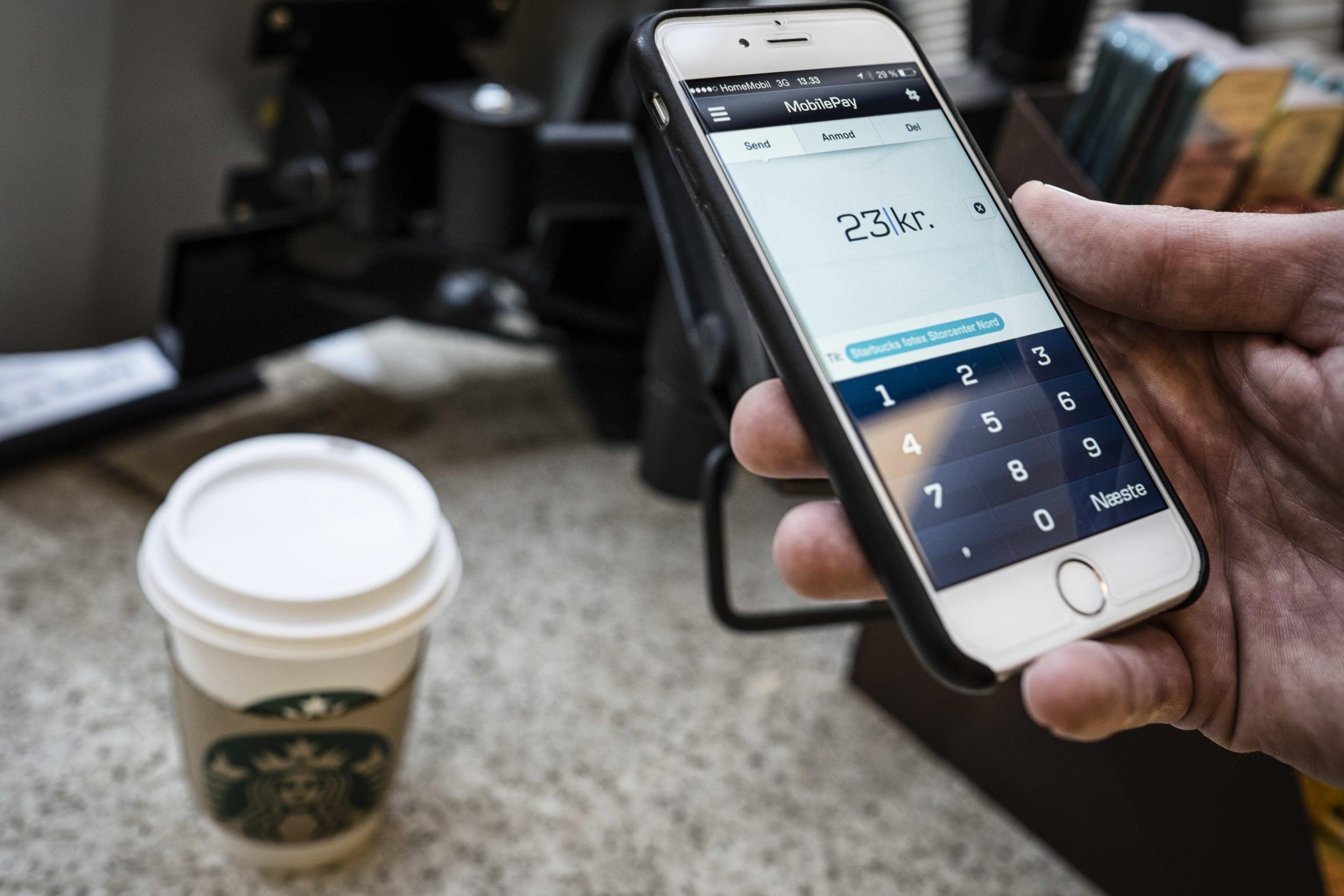 MobilePay at Starbucks