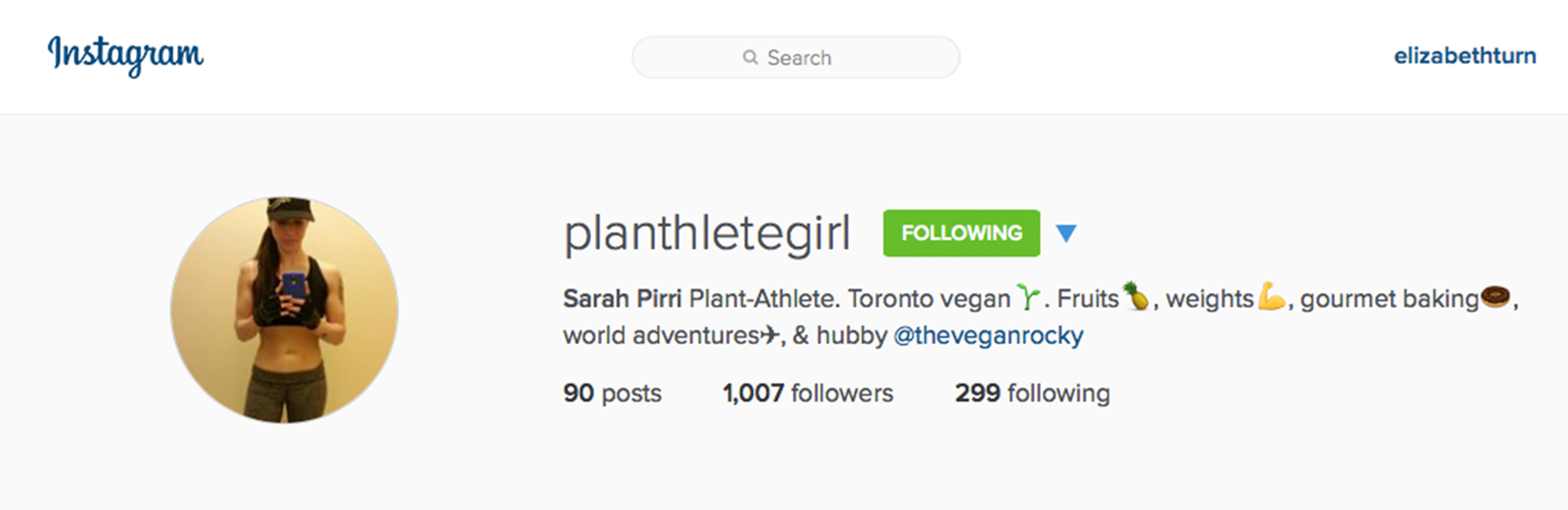 planthletegirl on instagram from plantbasedbride.com