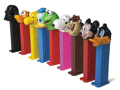 Pez candies are vegan!  Check out plantbasedbride.com for 9 more vegan candy options for Halloween!