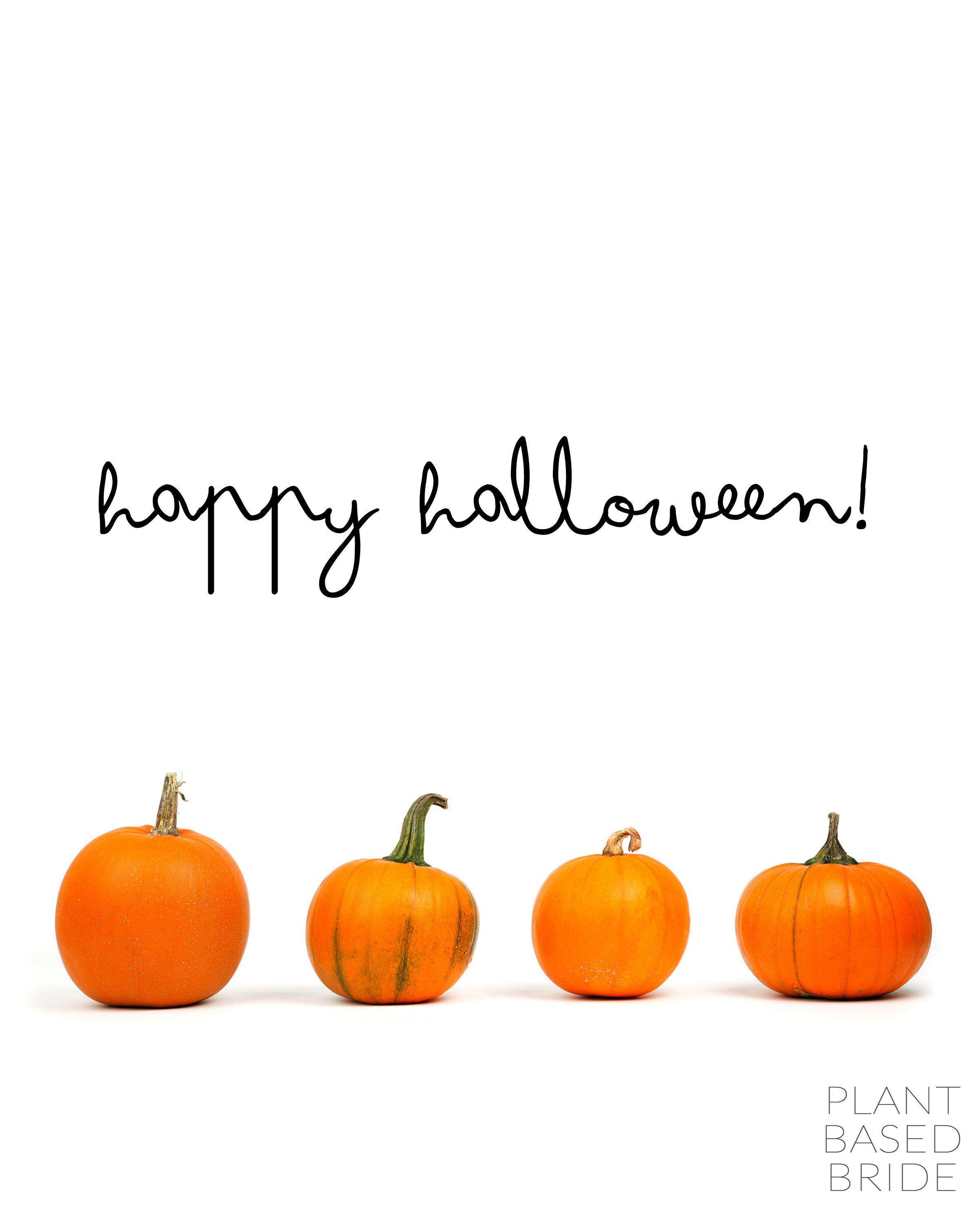 Happy Halloween, everyone! @elizabethturn / plantnasedbride.com