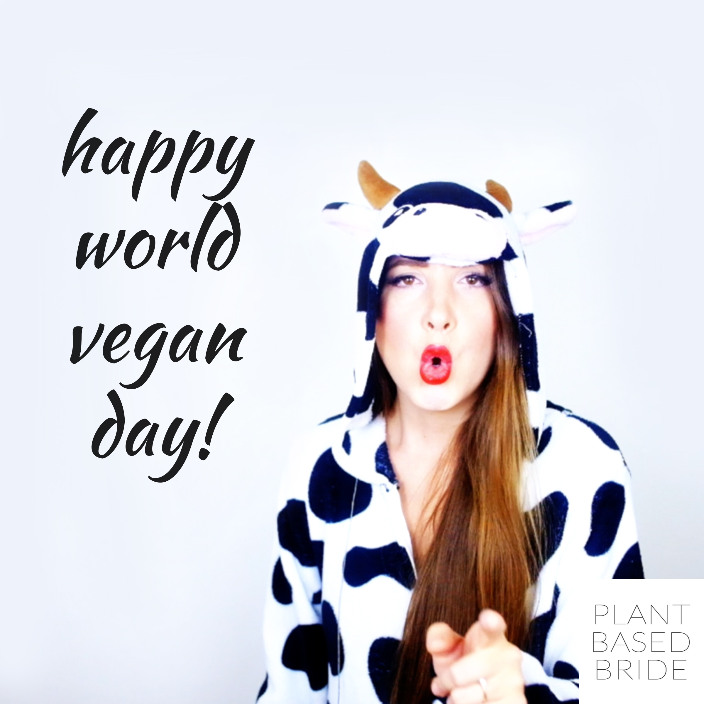 It's world vegan day! Check out my first YouTube video now!