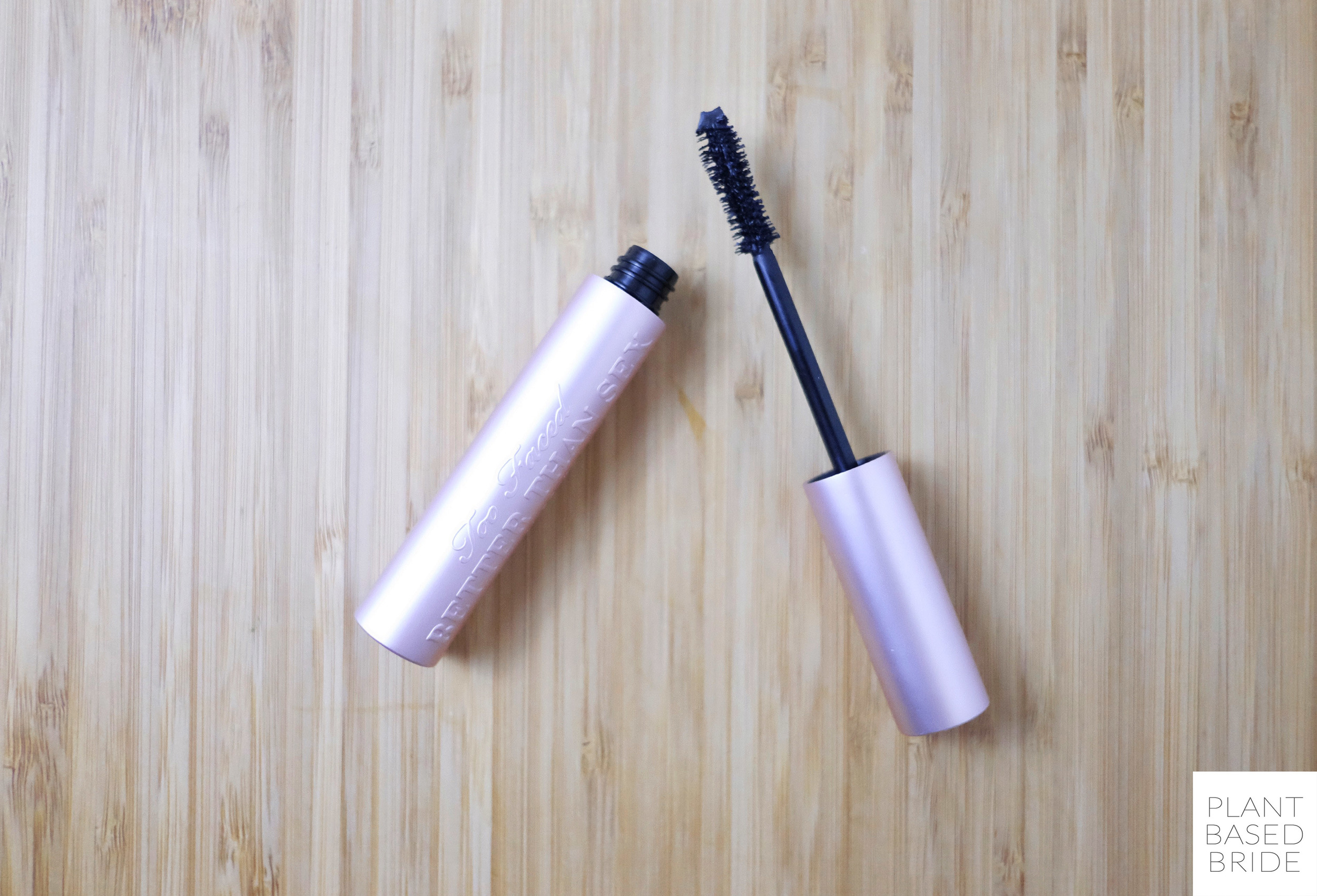 Too Faced Better Than Sex Mascara Review // Vegan & Cruelty-Free // Plant Based Bride