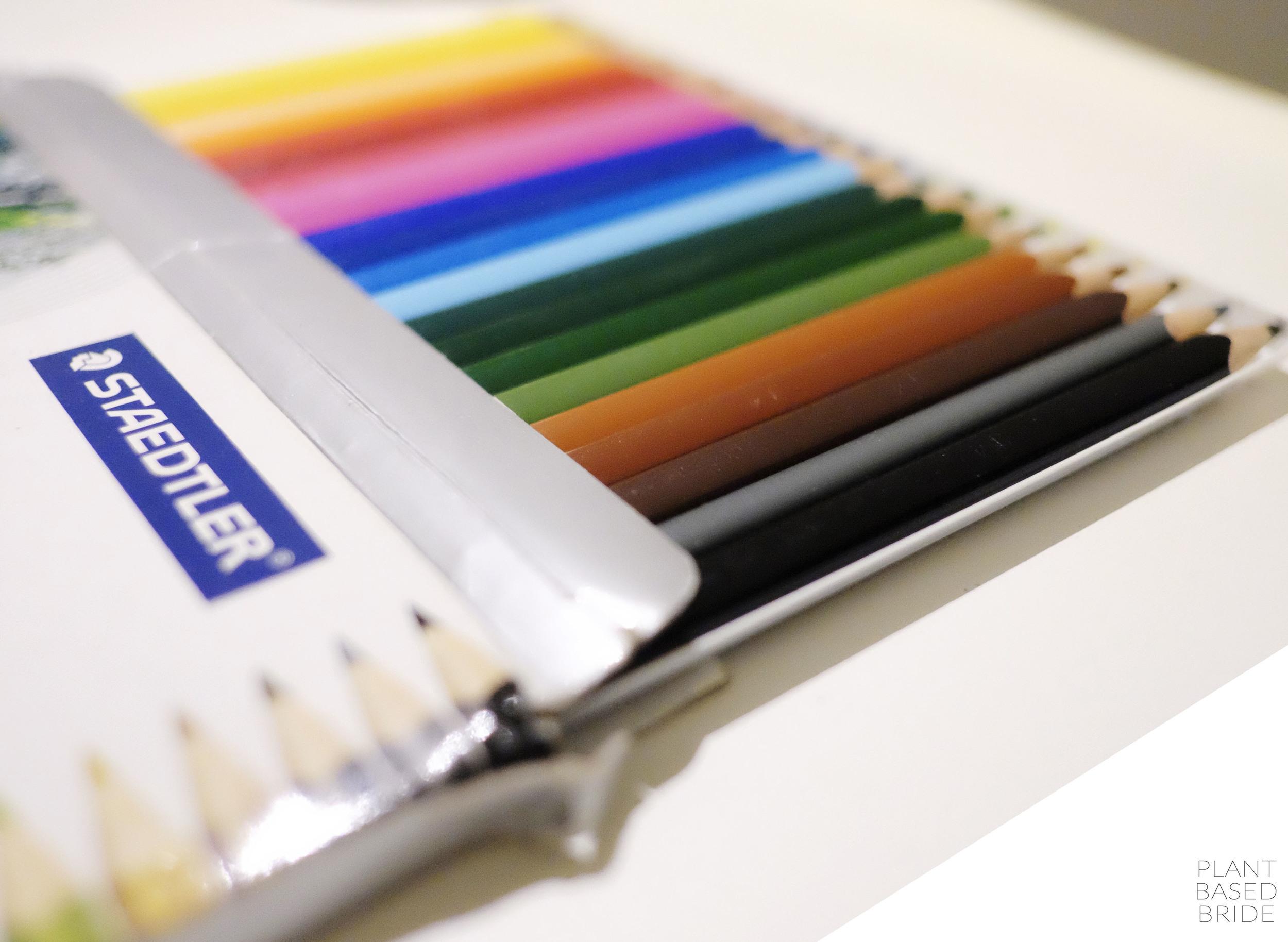 Bullet Journal Update + Tour! // Staedtler Coloured Pencils // Plant Based Bride // Bujo