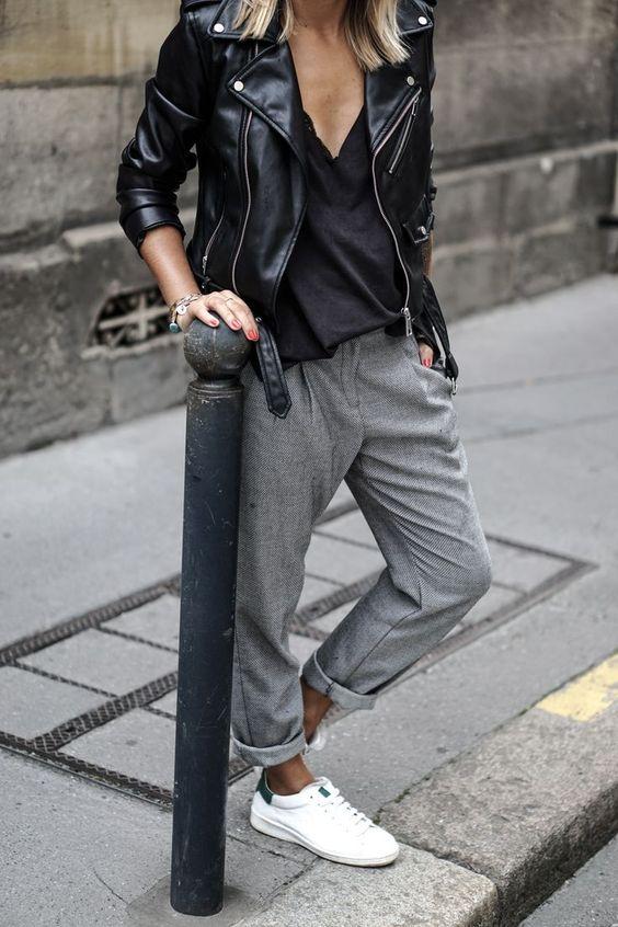 edgy minimalist fashion