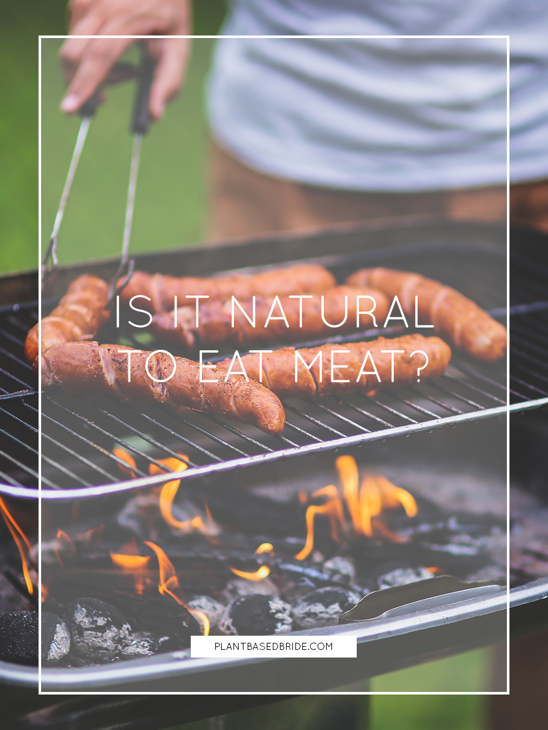 Is It Natural To Eat Meat? // Plant Based Bride