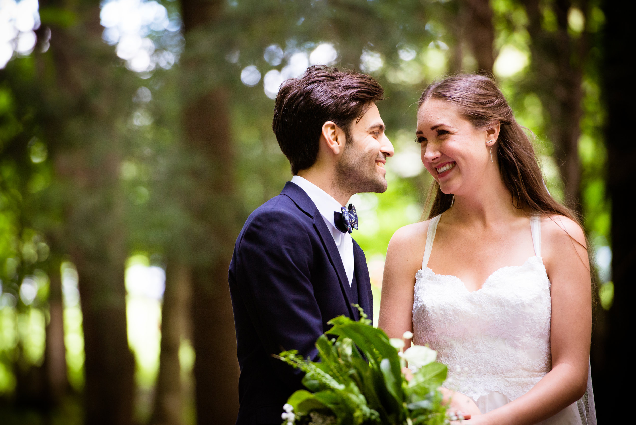 Post ceremony bliss. // Plant Based Bride // Shot by Karmel Kreative
