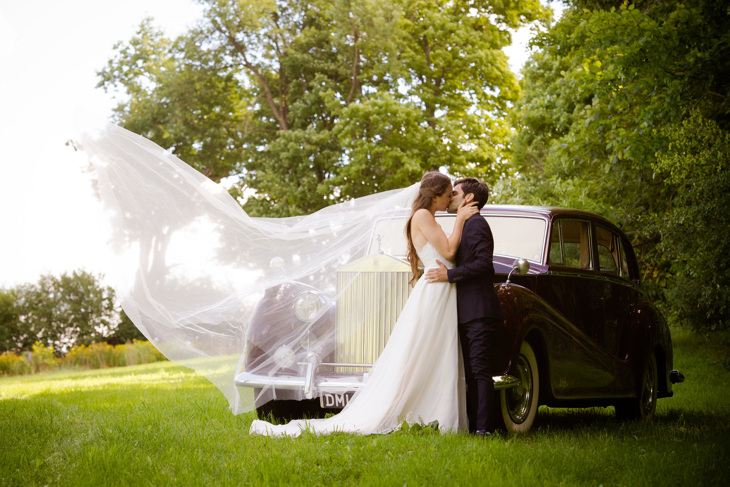 A magical moment, captured forever! // Plant Based Bride // Shot by Karmel Kreative