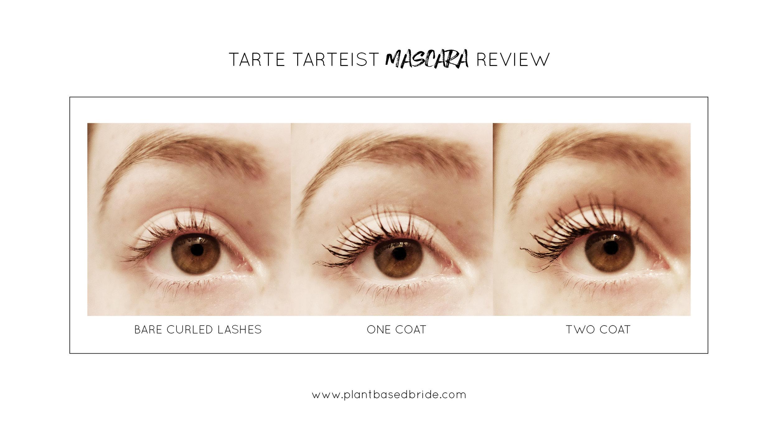 Tarte Tarteist Vegan Mascara Review // Plant Based Bride
