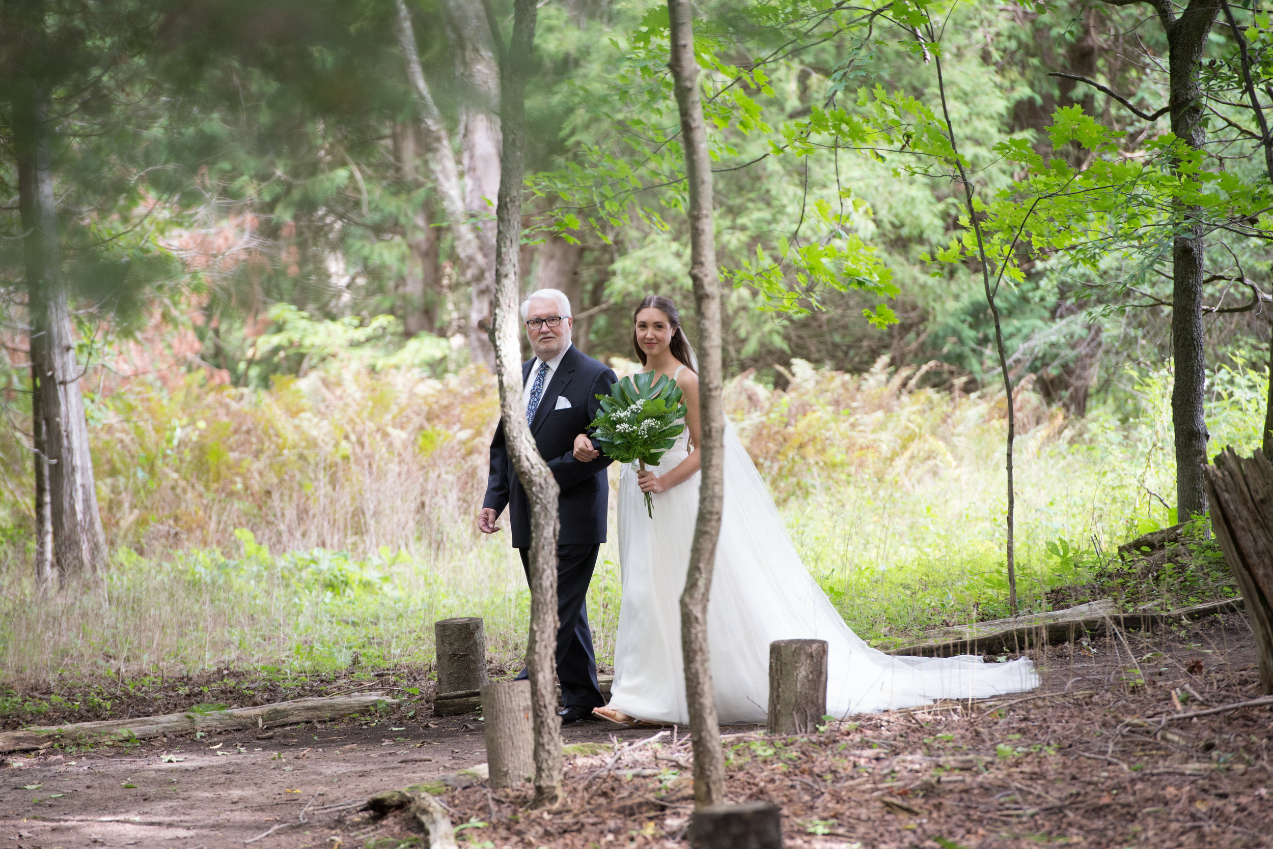 Here comes the bride. // Wedding photos by Karmel Kreative // Plant Based Bride