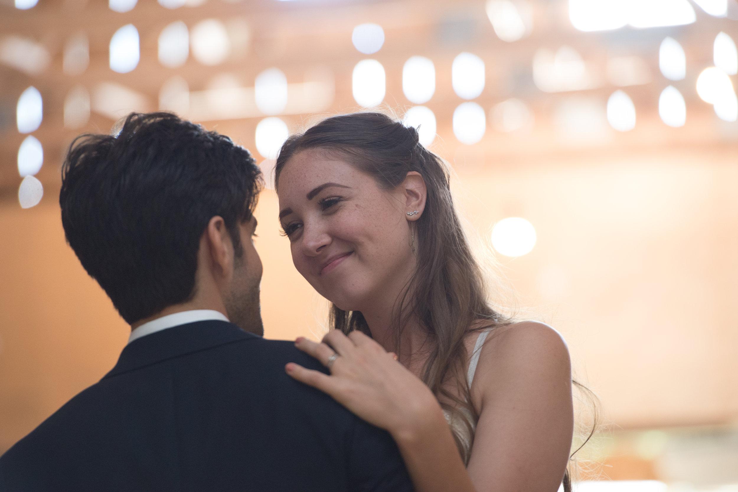 First dance. // Wedding photos by Karmel Kreative // Plant Based Bride