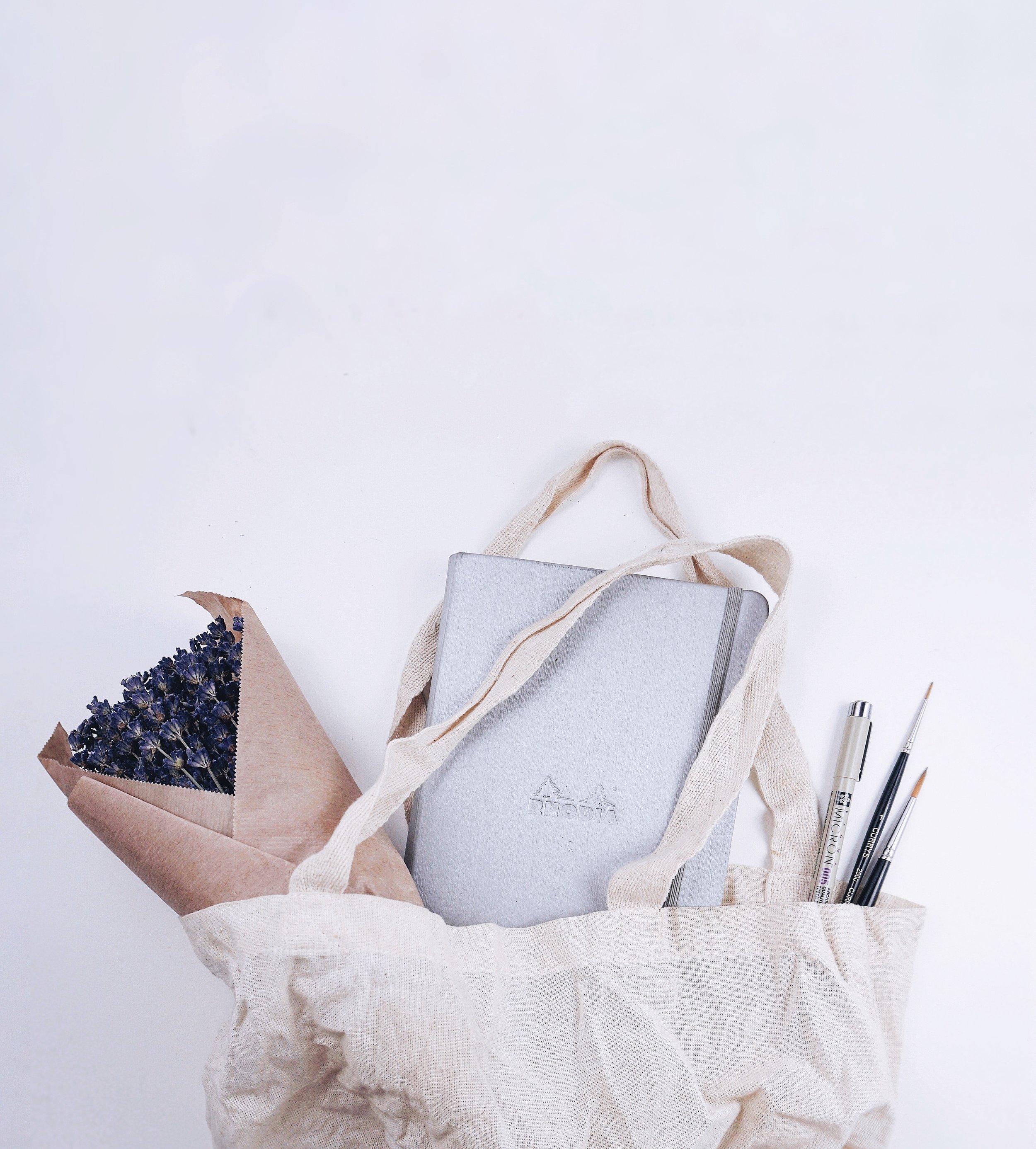 BuJo Bag // Plant Based Bride