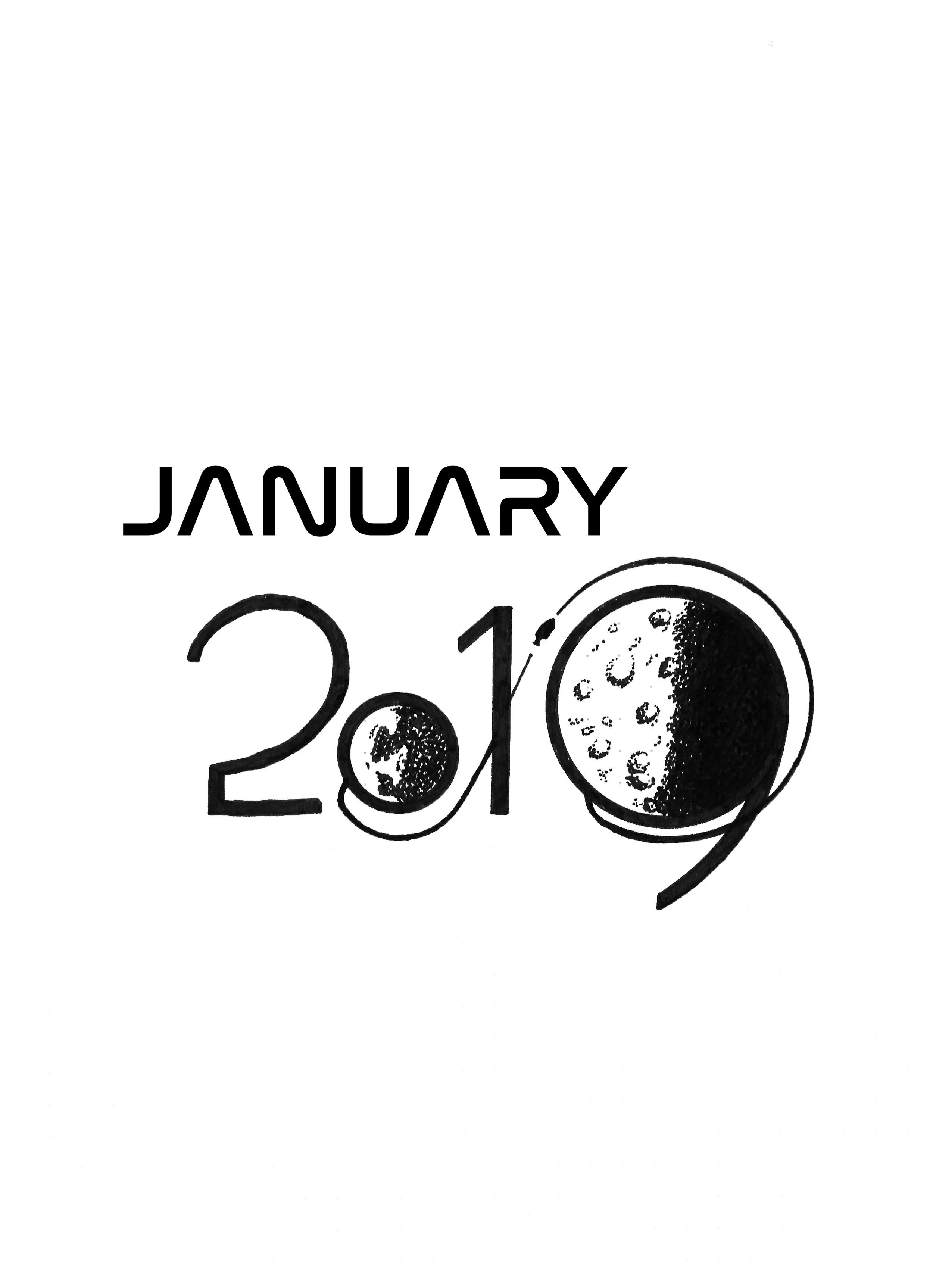 January Apollo Printable