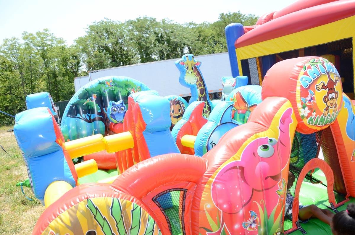 Animal Kingdom Inflatable by Ninja Jump