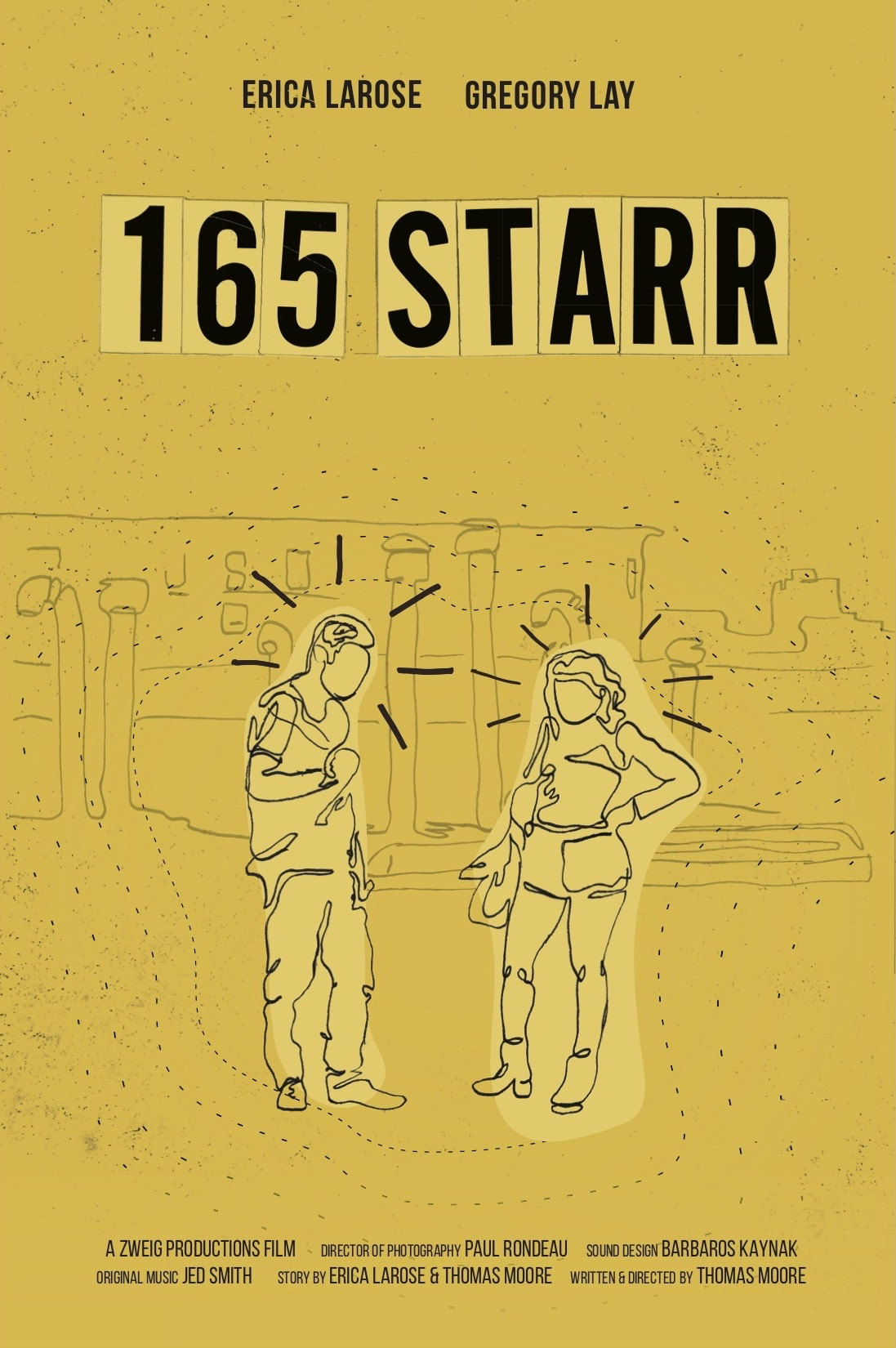 165 STARR - I'm excited to share this short film I've co-created with Studio Moniker very soon! It explores the dynamic of a couple as they are stuck inside a Brooklyn building.