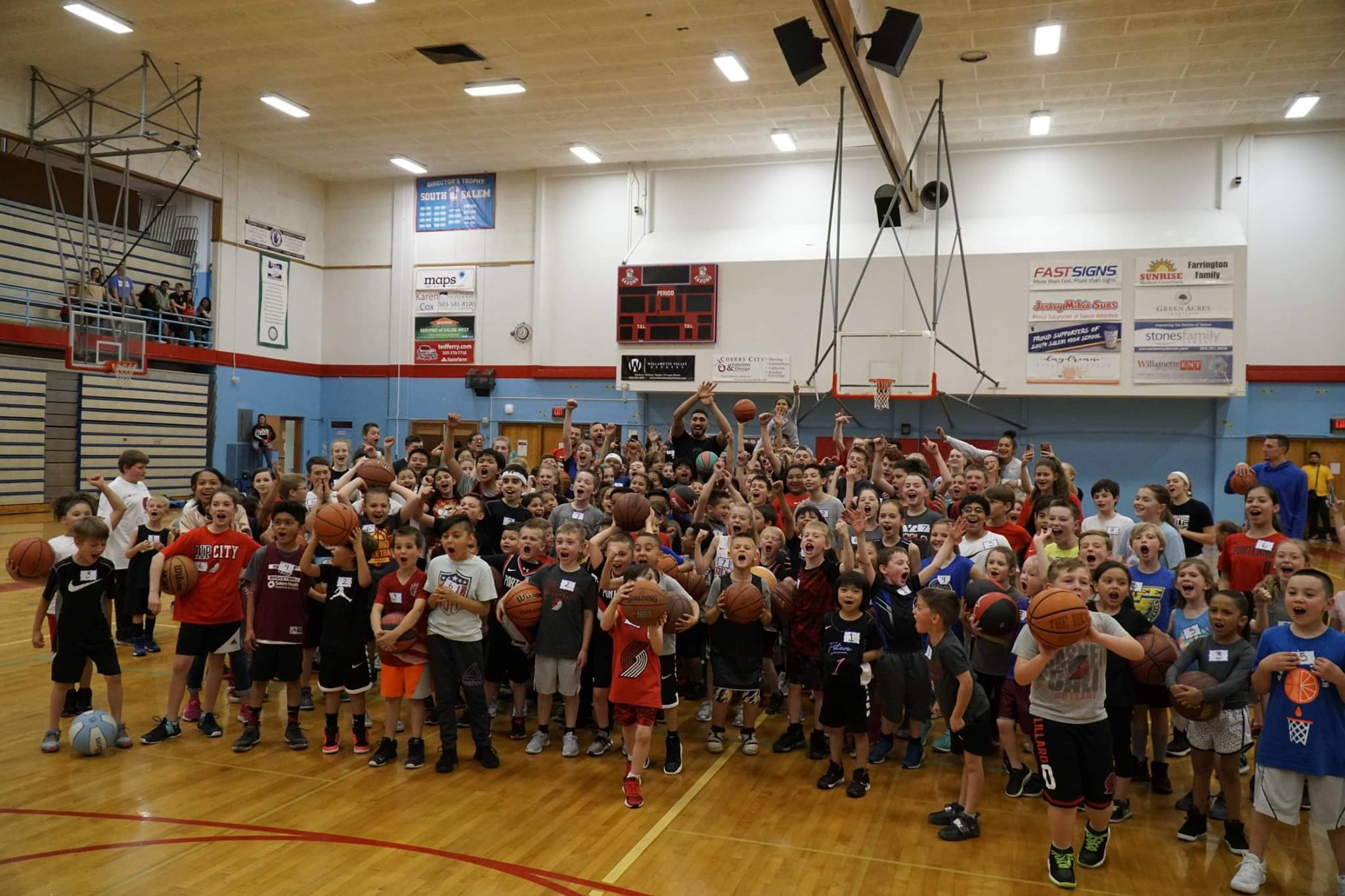 Salem Hoops Project with Enes Kanter — what a memorable night!
