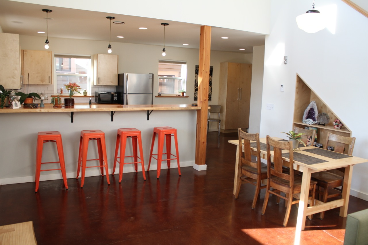 Our first zero-energy home project, in Seattle, WA.