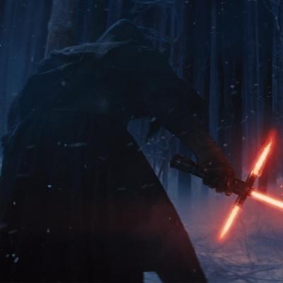 Star Wars: Episode VII – The Force Awakens   Luke Skywalker. Han Solo. Princess Leia. Lightsabers. A mysterious villain. Space.Duh.