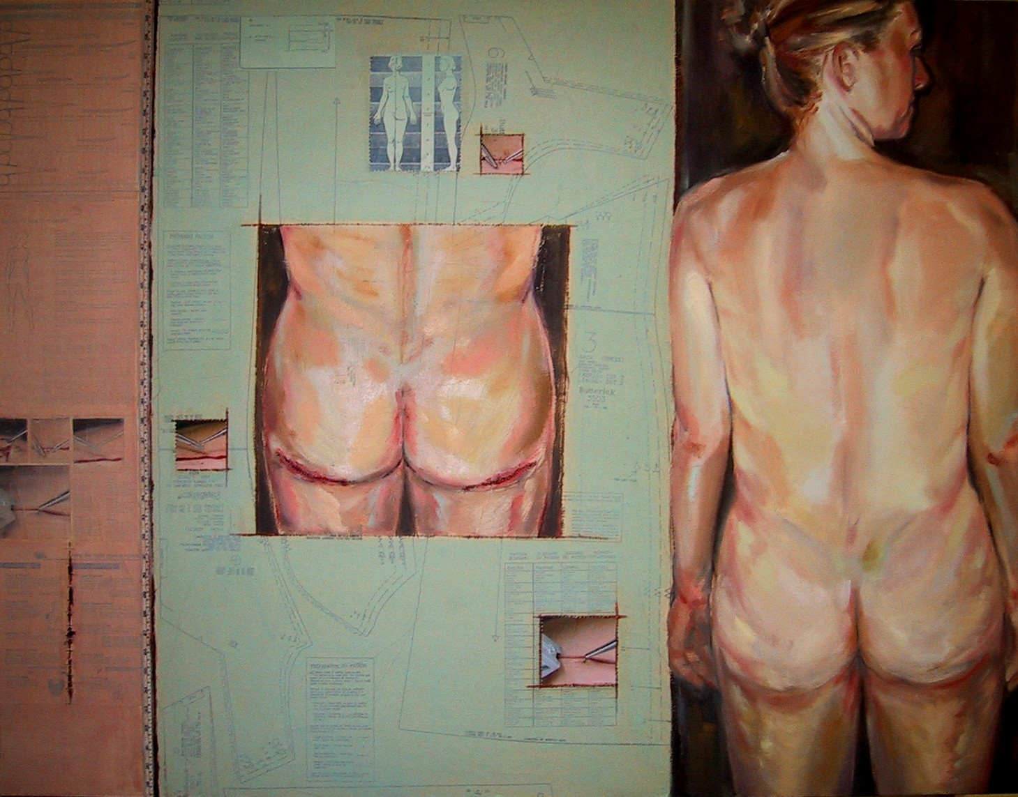 """Cut To Fit #2  o/c  48"""" x 60"""""""