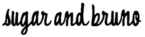 Sugar and Bruno Logo