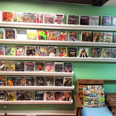 Come check out our selection of new and back issue comics!