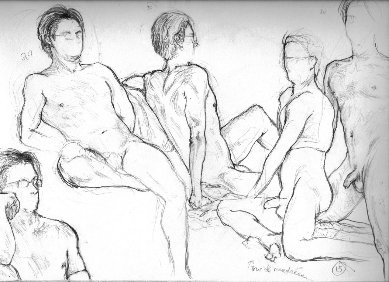 figure drawing study  2014