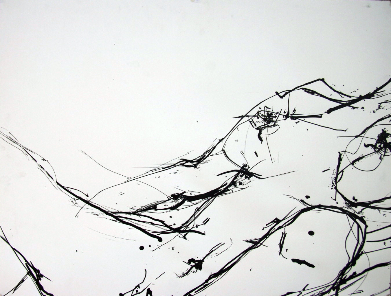 String and Ink 24 x 18inch  For Sale - $ 30  2012