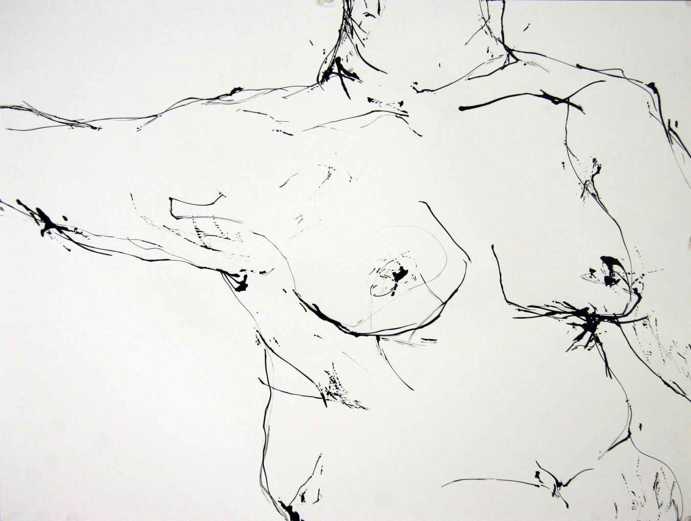 String and Ink 18 x 24 inch  2012