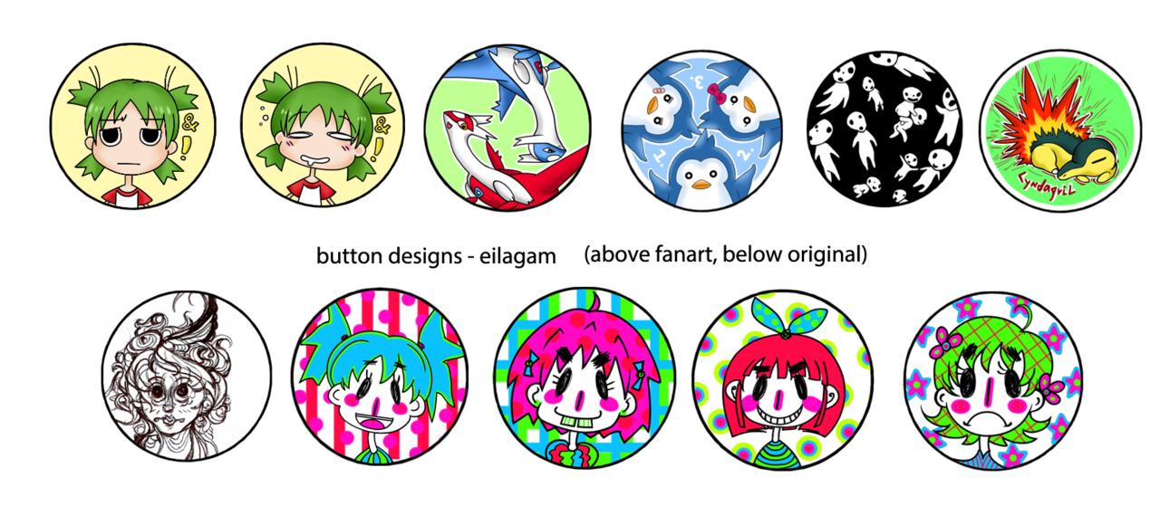 button designs 2012