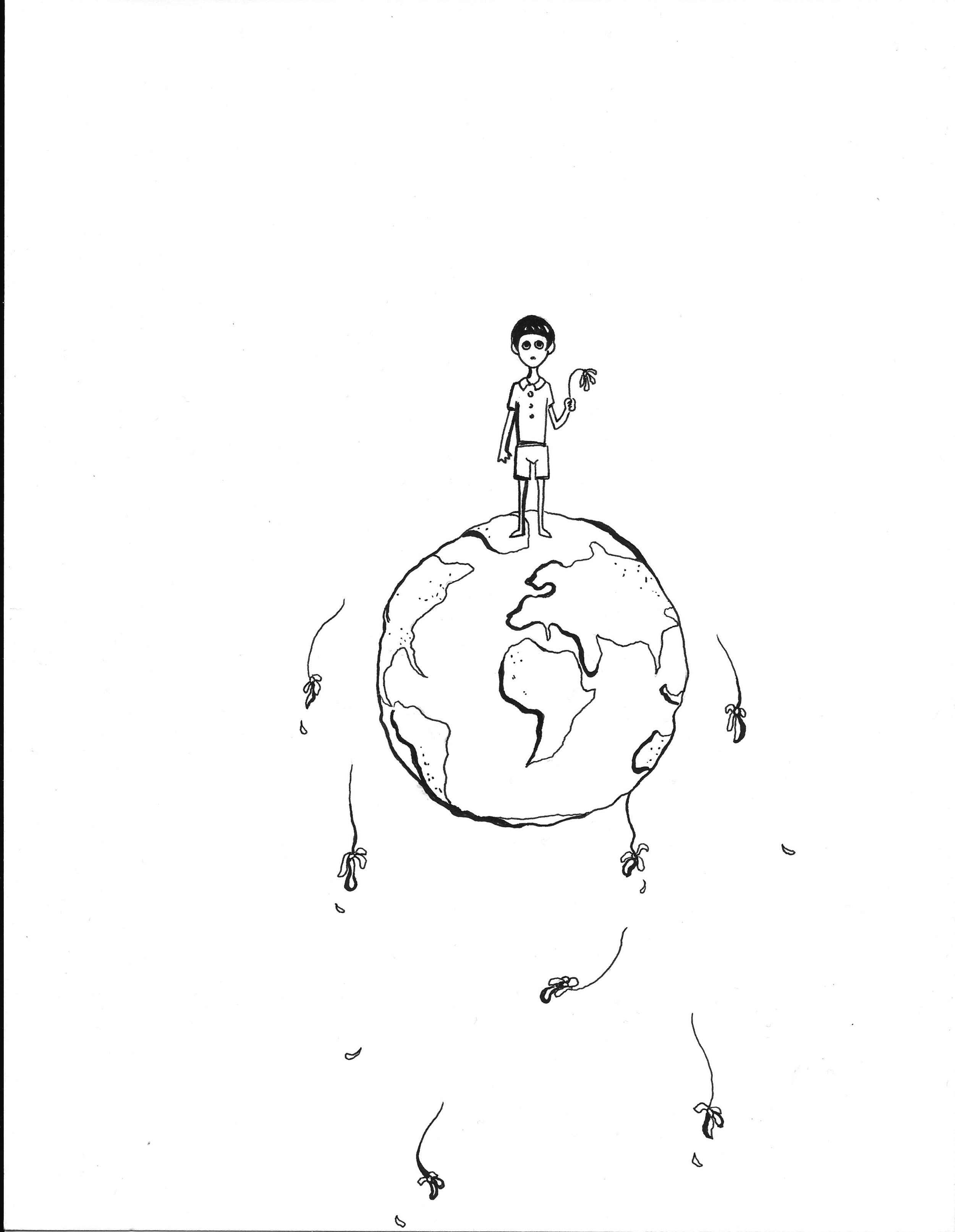Dance On Bones by David White Illustration p.4