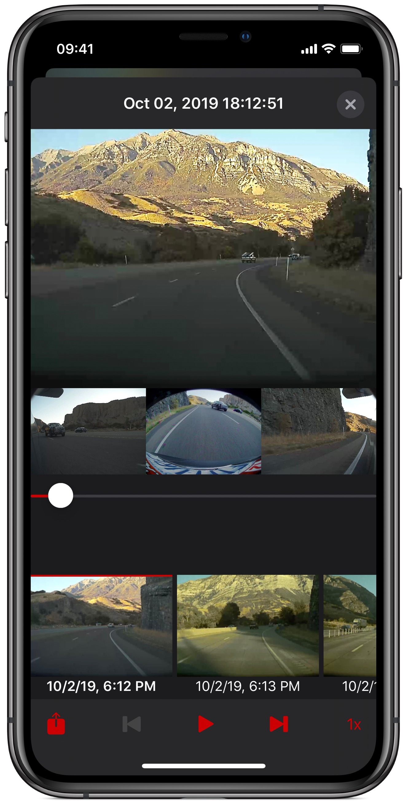 Portrait and Landscape Viewing - The Cam Viewer app allows you to review captured video however you like and will seamlessly rotate without interruption.