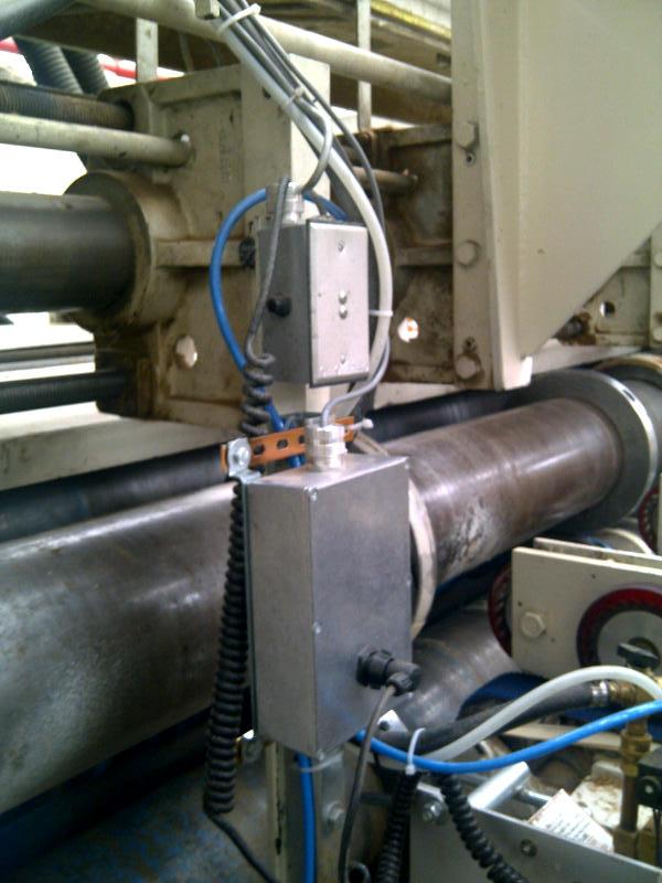 El sistema se limpa fácilmente con un botón de purga de agua