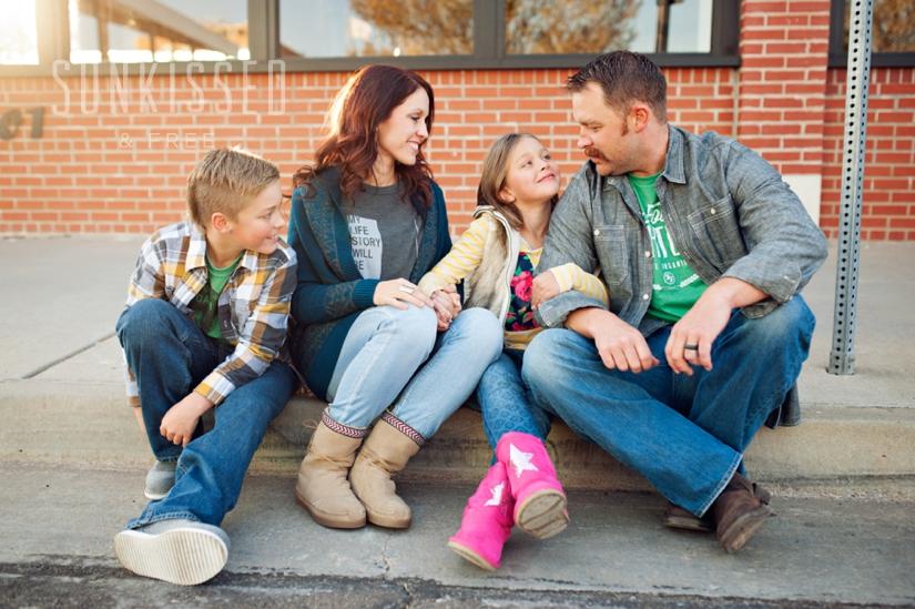 OKC Urban Family Sunkissed & Free Photography