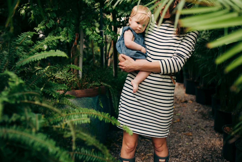 OKC Children Photography Calverts Plant Interiors Greenhouse