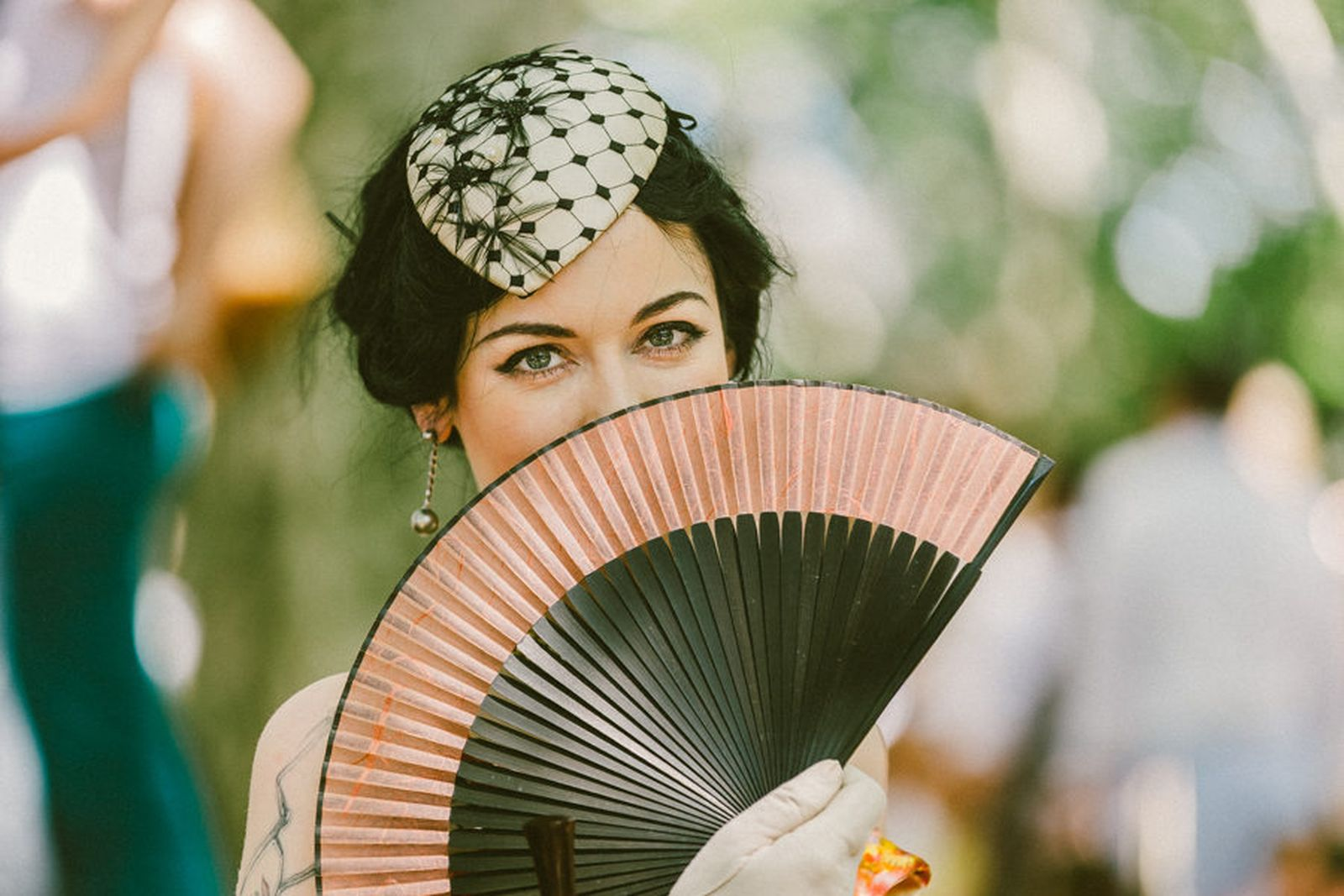 Delicate Hats + Hand Fans