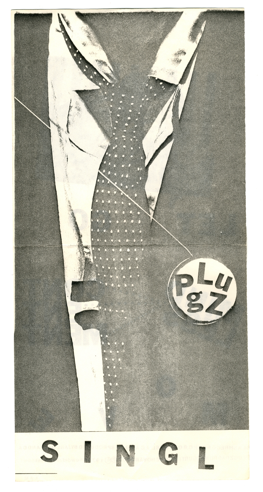 """Plugs 'Move' 7"""" Single - Tie Cover - Front and Back"""