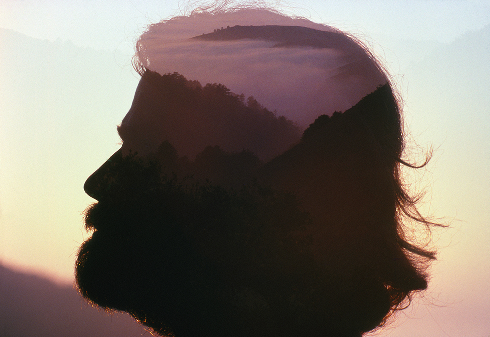 Dad double exposed by Mom. Palo Colorado Canyon, Big Sur, CA. August 1978.jpg
