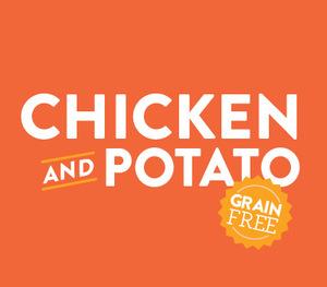 chicken potato dog food
