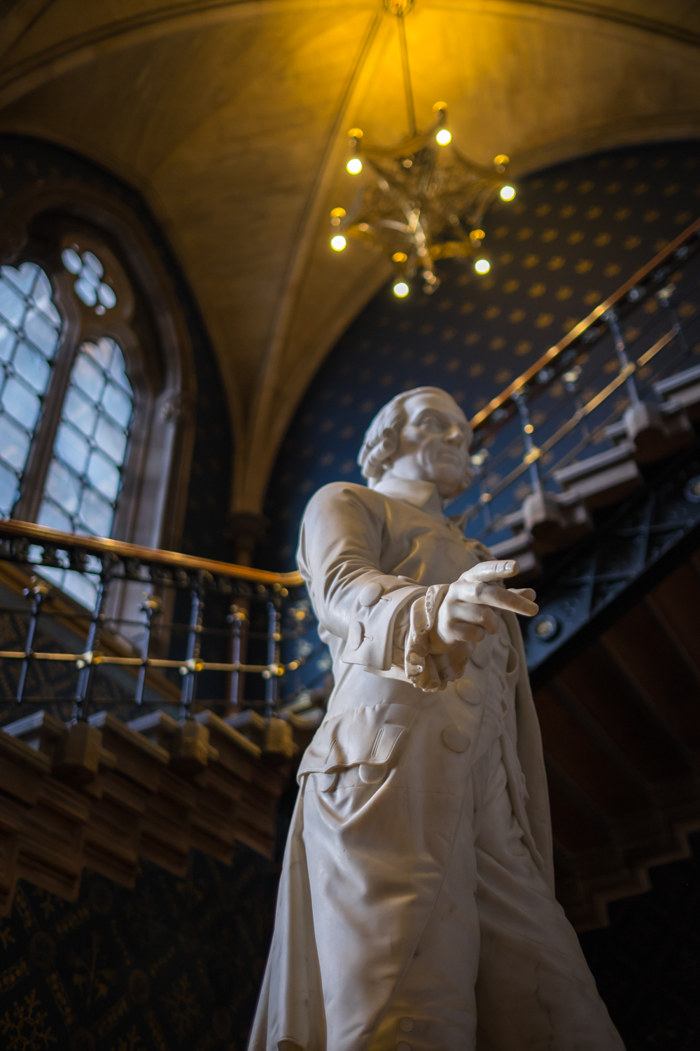 The Mysterious Statue of Adam Smith